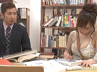 Chihaya Yutsuka hot Asian milf gets big tits fucked asian big tits japanese video