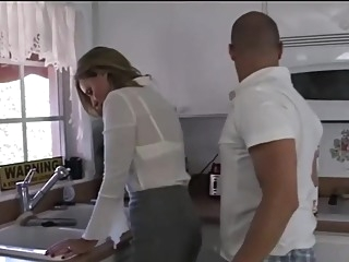Dont rub that on mom milf big tits straight video