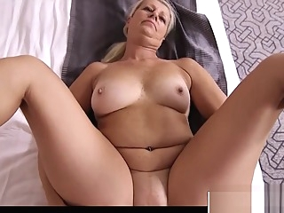 Big tits Fake Mother Juliane Gives Blowjob Cool Hot Stepson anal big tits blowjob video