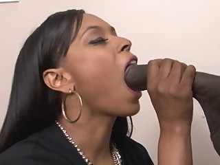 Big booty Porsha takes on John E Depth's horse cock big ass big cock blowjob video