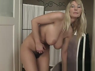 Vanessa Sweets has some huge tits and a hairy snatch big tits hairy mature video