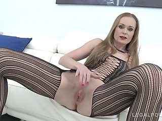 nika get fucked anal big tits blonde video