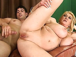 Busty MILF Assfucked anal blowjob mature video