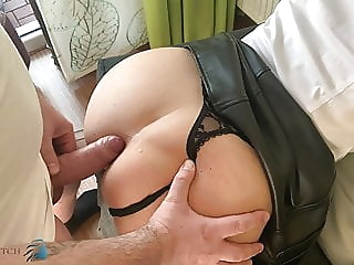 business meeting, home office anal fuck - business-bitch anal cumshot stockings video