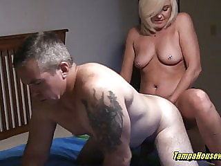 Horny Housewives Can Help Out Their Bi-Curious Husbands blonde close-up big boobs video