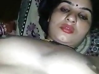 Beautiful indian wife ..hard sex asian fingering milf video