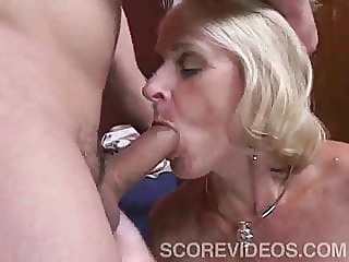 Interior Decorator blonde blowjob old & young video