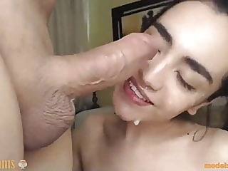 You won't believe what she does with her tongue anal blowjob facial video