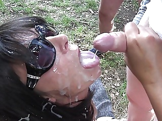 Slutwife Marion The Queen Of Cum amateur blowjob gangbang video