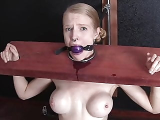 slave empaled blonde bdsm hd videos video
