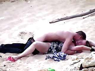 Beach sex amateur beach mature video