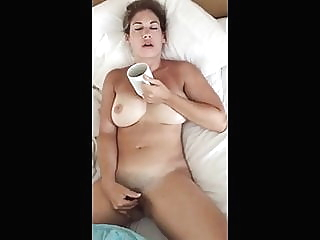 Busty Wife Swallows blowjob hardcore handjob video