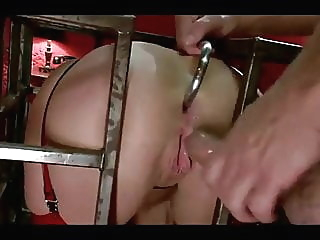 Latex Asshole Slave amateur anal bdsm video