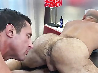Adam Russo & Nick Capra bareback (gay) bear (gay) blowjob (gay) video