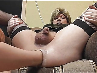 mature sissy cums hard while fisting and straponing ladyboy (shemale) hd videos anal (shemale) video