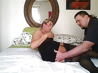 Fatt man with XL cock plays with TV. Pussy Lu bareback (gay) bear (gay) big cock (gay) video