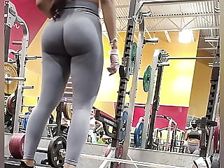Latina does gym workout in tight leggings anal hd videos 69 video