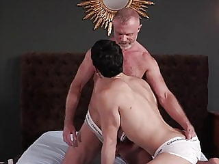 uncle bonks his young lover twink (gay) blowjob (gay) daddy (gay) video