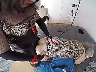 Shemale fucking granny big cock (shemale) guy fucks shemale (shemale) latex (shemale) video
