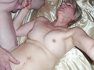 Our House Friend And I Cum On My Wifes Tits amateur cumshot pov video