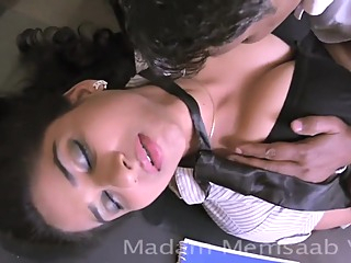 Desi School Girl Romancing With Professor For Promotion - Big Boob Pressed Bgrade hd indian  video