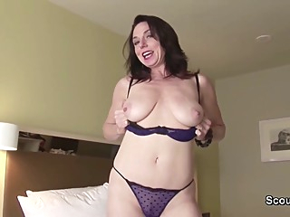 Amateur German Mom And Dad In Private Sextape - Karen Kougar amateur anal big tits video