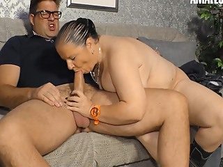 Bbw German Granny Hanne Hot Fun With Her Neighbor amateur bbw big tits video