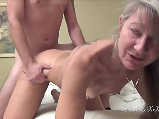 Milf Leilani Lei Meets Young Brad Knight For A Fuck amateur blonde cumshot video
