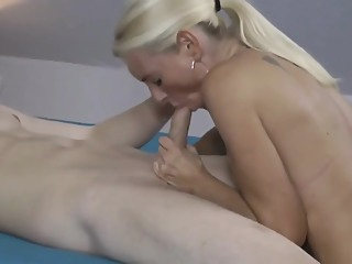 Horny German Stepmother Seduce And Fucks His Stepson amateur big tits blonde video