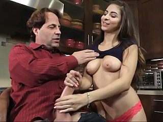 Cute Daughter Seduced Daddy - Nina North Sex Clip amateur big ass big tits video