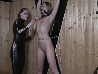 Worthless Dumb German Blonde Cunt Get Ass And Tits Slapped amateur bdsm blonde video
