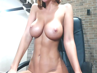 Big Tits Incredibly Hot Fitness Camgirl amateur big tits brunette video