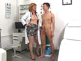 Sperm Hospital - Dirty Mature Slut Nurse Stefania amateur cumshot fetish video