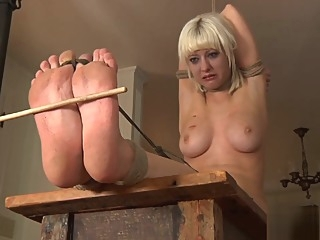 Mature Blonde Bbw Slut Entangled In Fetish Bdsm mature fetish bbw video