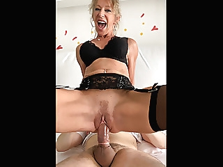 French blond MILF Marina Beaulieu gets fucked by a stranger blonde blowjob cumshot video