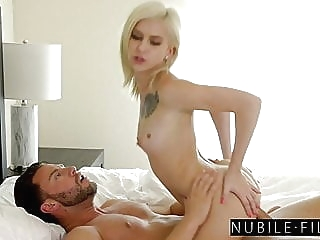 Kiara Cole Wakes Up For Romantic Ride On Lovers Morning Wood blonde blowjob cumshot video