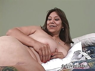 MARIA- Juicy Granny 2 anal mature top rated video
