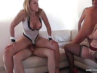 Sabrina French 46 years old 2 anal blonde mature video
