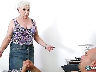 Jewel is a granny Milf 67 years old blowjob cumshot mature video