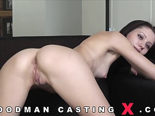 anal audition for Aspen anal brunette casting video