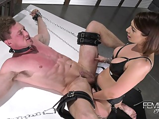 Domination Mistress Ivy Lebelle Fuck Guy With Strapon anal bdsm brunette video