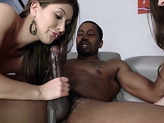 Teen MILF Loves to Share Big Black Cock big cock big tits blonde video