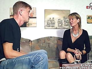 German mature old mother woman seduced younger son guy amateur mature top rated video