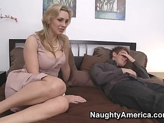 Tanya Tate & Danny Wylde in My Friends Hot Mom big tits blowjob fetish video