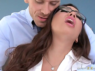 Big Tits at School: Sybian Schoolgirl. Karlee Grey, Johnny Sins anal big butt blowjob video