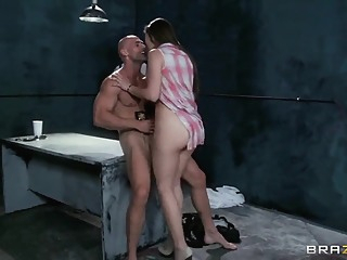 Dani Daniels having screw with Johnny Sins brunette natural tits bdsm video