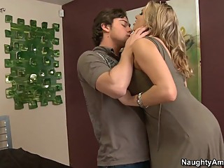 Briana Banks & Seth Gamble in My Friends Hot Mom big tits blonde blowjob video