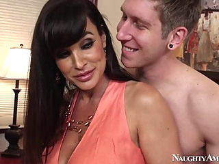 Lisa Ann & Danny Wylde in My Friends Hot Mom big butt big tits blowjob video
