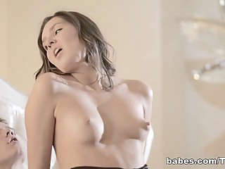 BabesNetwork Video: Slow and Sensual blowjob brunette hd video