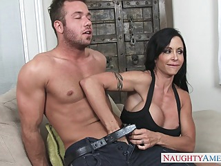 Jewels Jade & Chad White in My Friends Hot Mom big butt big tits latina video